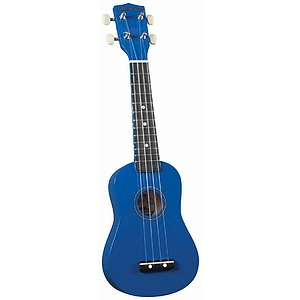 Diamond Head Soprano Ukulele - Blue