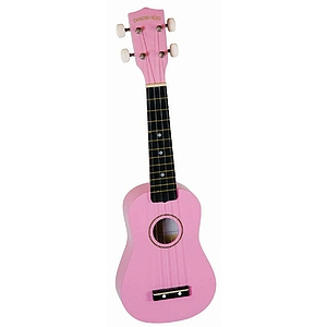 Diamond Head Soprano Ukulele - Pink