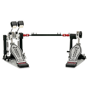 DW 9000 Series Lefty Double Bass Drum Pedal