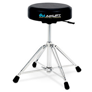 DW 9000 Series 9100AL Heavy-duty Drum Throne, Air Lift, Round Top