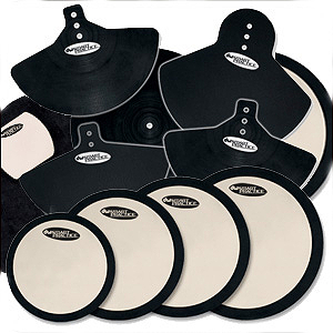 DW Complete Pad Set with Bass Drum, Cymbal, Head Pads