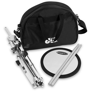 DW DWCPPADSTDBG Practice Pad with Stand, Bag & Sticks