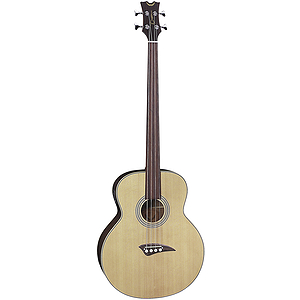 Dean EAB Fretless Acoustic/Electric Bass Guitar