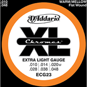 D'Addario ECG23 - Extra Light Electric Guitar Strings, 3 Sets