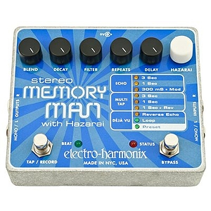 Electro Harmonix Stereo Memory Man W/ Hazarai Digital Delay/Looper