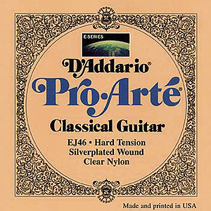D'Addario Pro Arte Classical Nylon Acoustic Guitar Strings - Hard Tension - 3 sets of strings