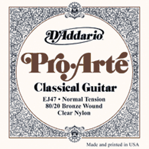 D'Addario EJ47 Pro Arte Classical Guitar Strings - Normal Tension - 3 Sets