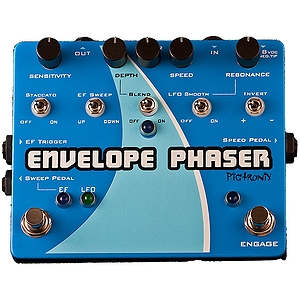 Pigtronix Envelope Phaser Guitar Effects Pedal