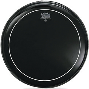 Ebony Pinstripe Drum Head - 14""