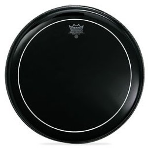 Ebony Pinstripe Drum Head - 16""