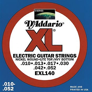 D'Addario EXL140 Electric Guitar Strings - Nickel Round Wound, Light Top/Heavy Bottom, 3 Sets