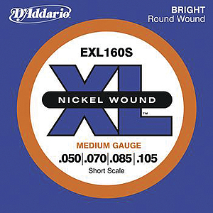 D'Addario XL Bass Strings - Regular gauge, short-scale - 1 set of strings