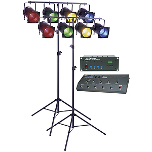 MBT Lighting DMX Foot Control Par 38 Lighting System
