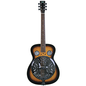 Flinthill Spruce Top Roundneck Resonator Guitar