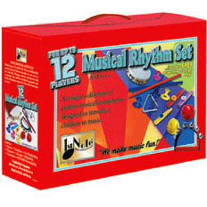 Trophy Children's 8-Piece Rhythm Kit