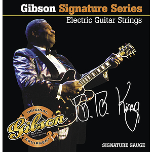 Gibson B.B. King Signature Electric Guitar Strings - 3 sets of strings