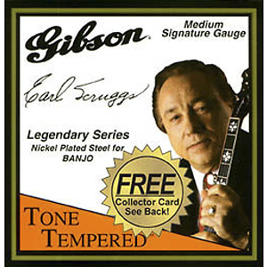Gibson Earl Scruggs 5-string Banjo Strings - Light - Box of 12 sets
