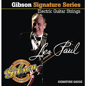 Gibson Les Paul Signature Electric Guitar Strings - 3 sets of strings