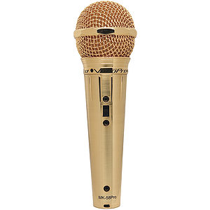 Voco Pro MK 58 Karaoke Microphone - Gold Plated