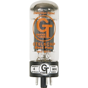 Groove Tubes Gold Series Gt-6L6-Chp Matched Power Tubes Medium Quartet