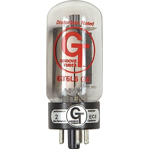 Groove Tubes Gold Series Gt-6L6-Ge Matched Power Tubes Medium (4-7 Rating) Quartet