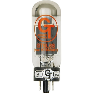 Groove Tubes Gold Series Gt-6L6-S Matched Power Tubes Low Duet