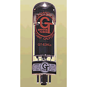 Groove Tube EL34LS Amp Tube - Matched Quartet