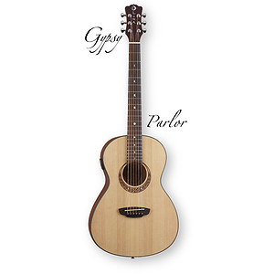 Luna Gypsy Parlor Acoustic Guitar