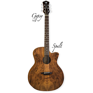 Luna Gypsy Spalt Acoustic Guitar