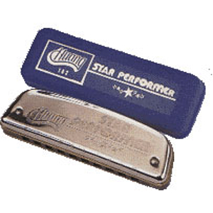Huang Star Performer Harmonica, Key of F