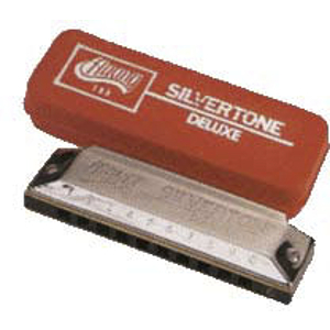 Huang Silvertone Deluxe Harmonica, Key of F
