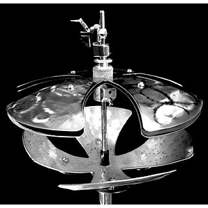 Factory Metal Hat Crasherz Specialty Hi-hat Cymbal - 6-inch