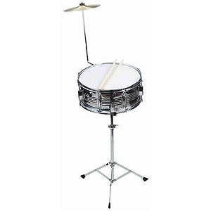 CB IS574 Snare Kit - Chrome Snare /w Tripod Stand & Splash