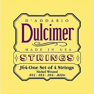 D'Addario J64 Dulcimer Strings - 3 Sets