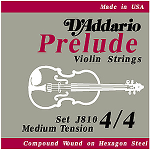 Prelude Violin Strings - 3/4 size, 1 set