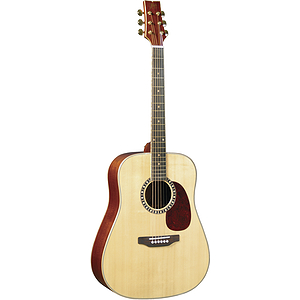JB Player JB85S Solid Top Dreadnought Guitar - Natural