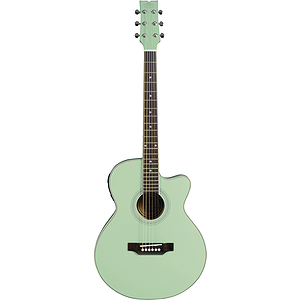 JB Player Bloom Acoustic-Electric Guitar - Aqua Green