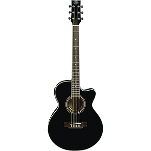 JB Player Bloom Acoustic-Electric Guitar - Black