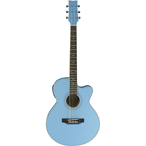 JB Player Bloom Acoustic-Electric Guitar - Powder Blue