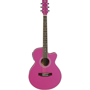 JB Player Bloom Acoustic-Electric Guitar - Pink