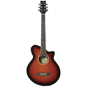 J.B. Player JBEA35SB Realm Series Acoustic-Electric Guitar - Sunburst