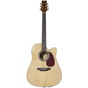 JB Player JBEA85 Acoustic Electric Guitar - Natural Finish