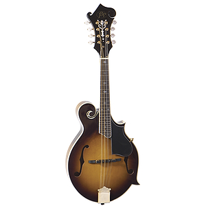 JB Player Florentine Style Mandolin - Vintage Sunburst Finish