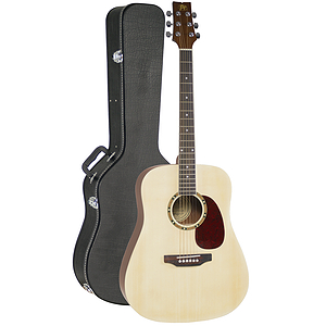 JB Player JBPGAC Acoustic Guitar With Case - Natural