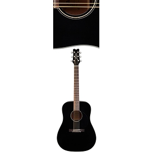 Takamine Jasmine JD-39 Dreadnought Acoustic Guitar - Black