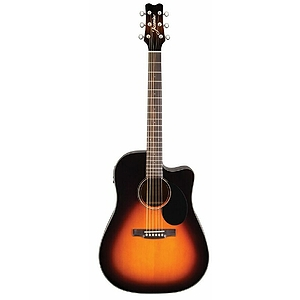 Takamine Jasmine JD-39CE Dreadnought Acoustic-Electric Guitar - Sunburst