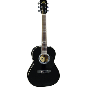 "J. Reynolds 36"" 3/4-size Acoustic Guitar - Black"