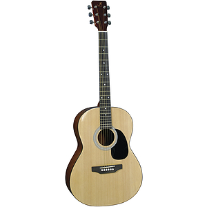 "J. Reynolds 39"" Folk-Size Acoustic Guitar - Natural"