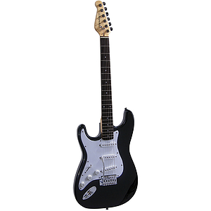 J. Reynolds Left-handed Electric Guitar - Black Finish