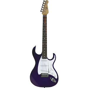 J. Reynolds Electric Guitar - Transparent Purple